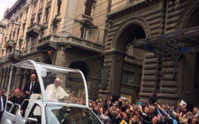 01 Ottobre | Benvenuto Papa  FRancesco